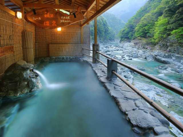 和の宿ホテル祖谷温泉(日帰り入浴)