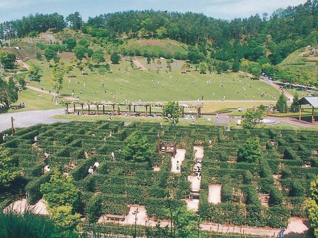 神山森林公園イルローザの森