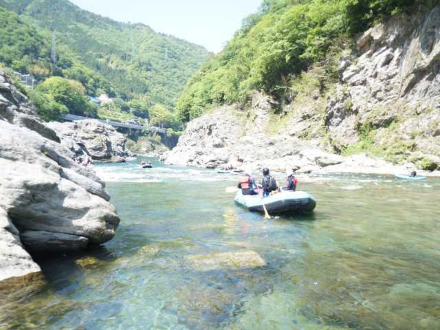 四国吉野川ナイスラフティング