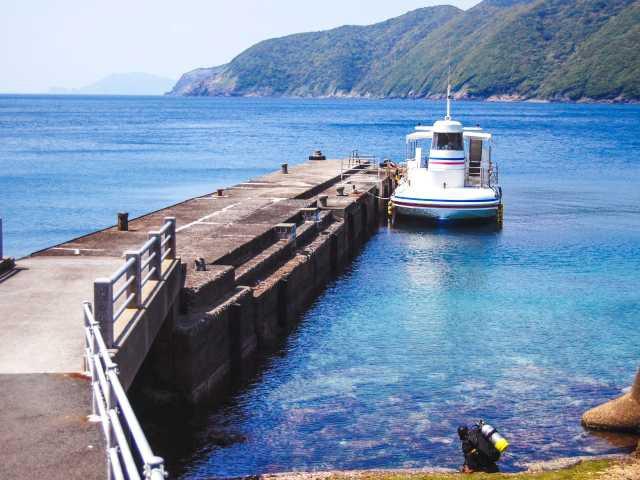 「海底が見える船」ユメカイナ・ガイヤナ