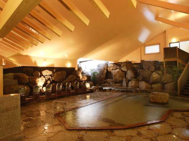 猿投温泉 日帰り温泉 岩風呂 金泉の湯