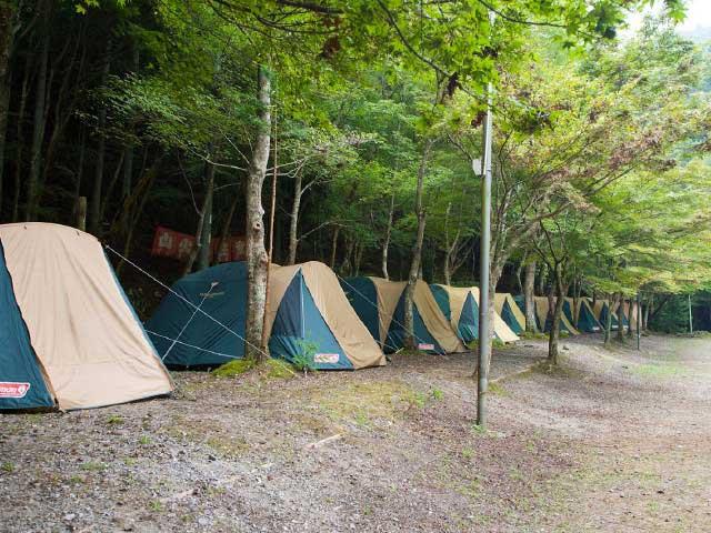 くらがり渓谷キャンプ場