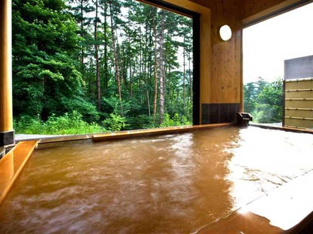 かのせ温泉 赤湯