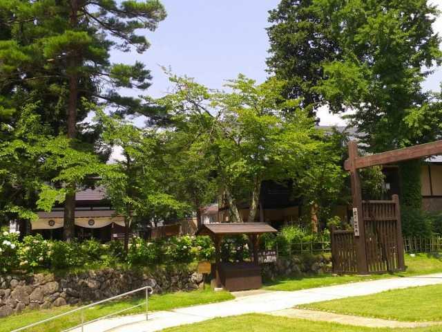 北国街道・関川の関所 道の歴史館