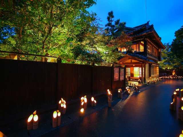 宵の竹灯籠まつり
