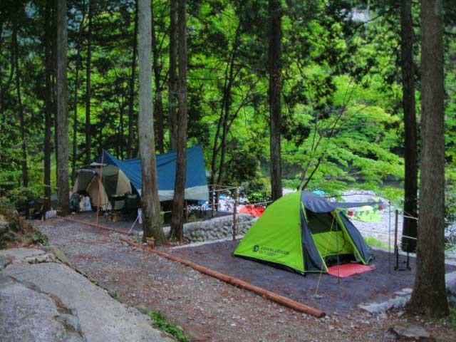 川井キャンプ場