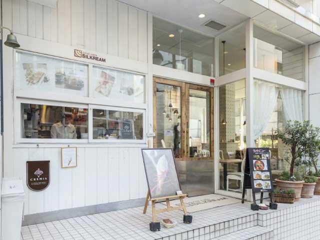 dolci cafe SILKREAM 渋谷店