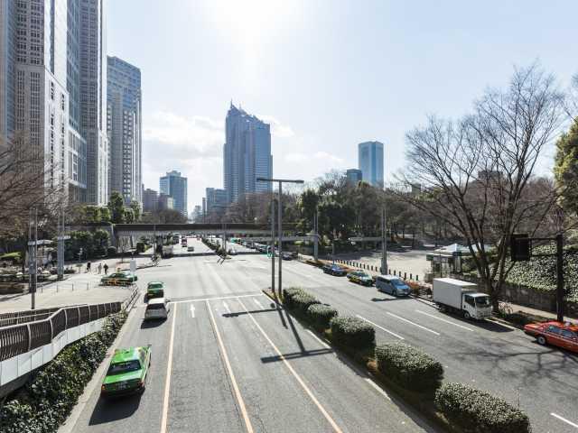 新宿副都心街路
