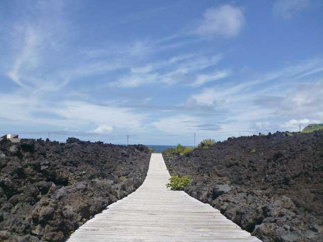 火山体験遊歩道