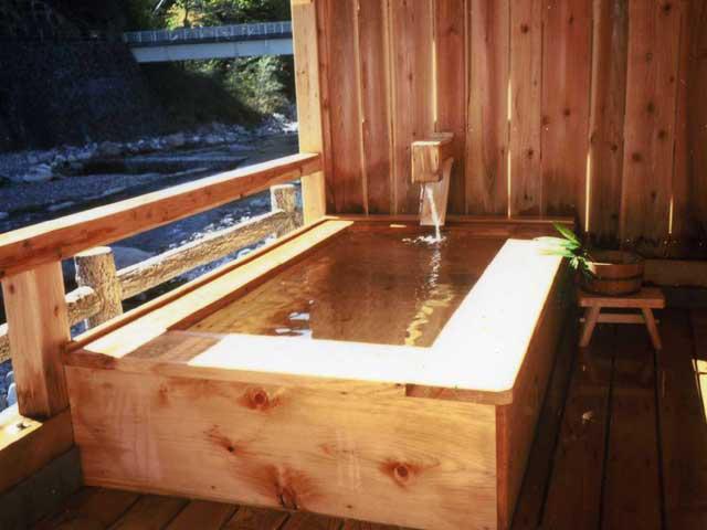 川俣温泉 国民宿舎 渓山荘(日帰り入浴)