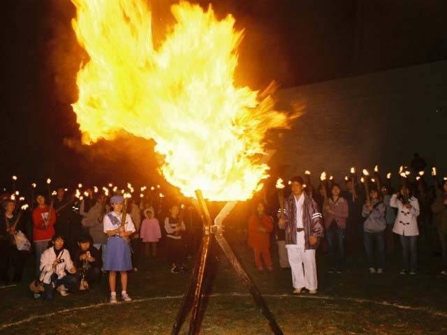 摩文仁・火と鐘のまつり
