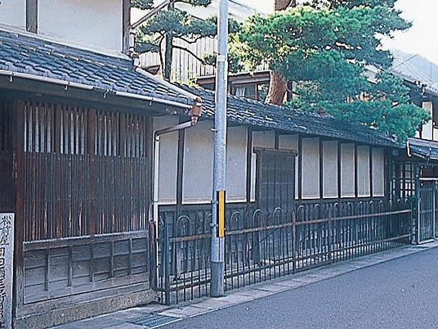松前屋 岡田彌三右衛門邸跡