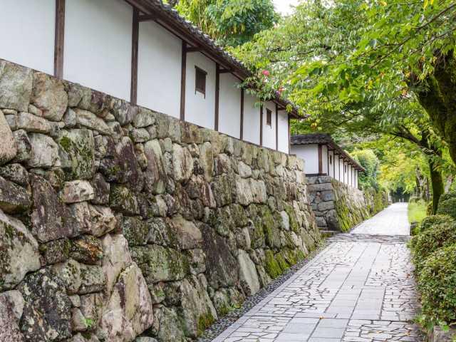 石積みの門前町坂本
