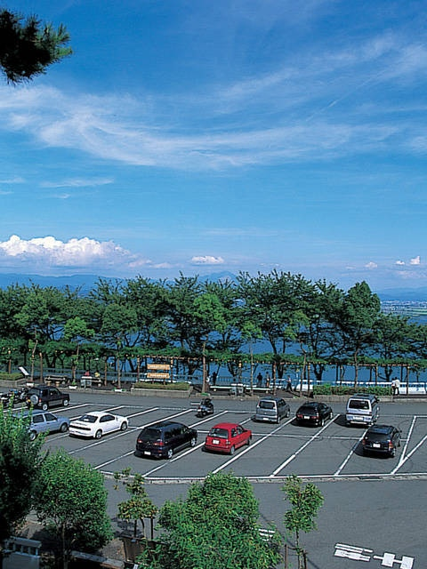 つづら尾崎展望台(奥琵琶湖パークウェイ)