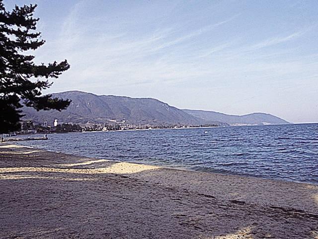 近江舞子水泳場(キャンプ場)
