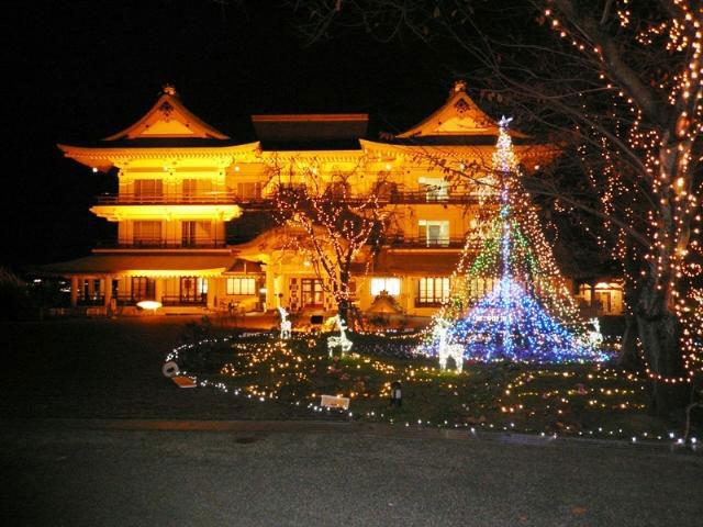 びわ湖大津館イルミネーション 光の庭のRose Fantasy