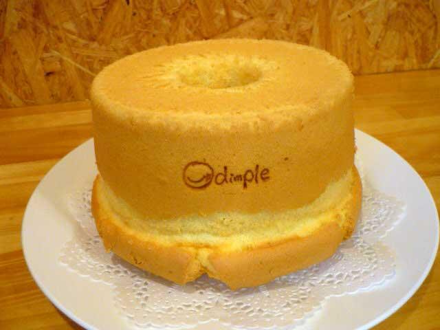 手づくりシフォンケーキ dimple