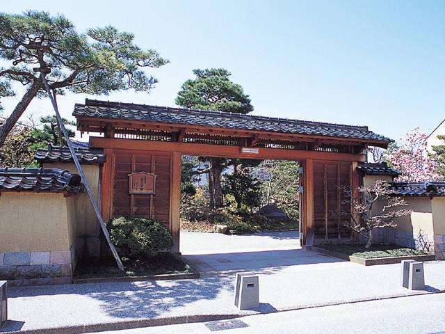 旧加賀藩士 高田家跡