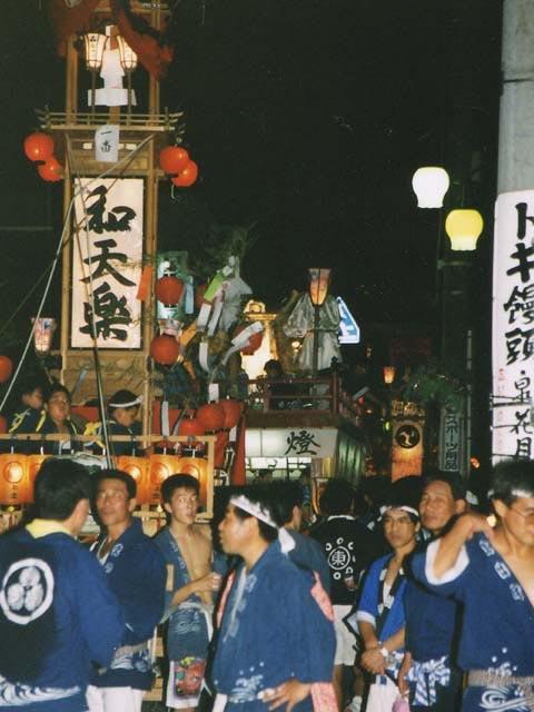 大町祭り・川島祭り