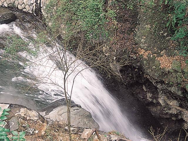 太閤石風呂/太閤の滝