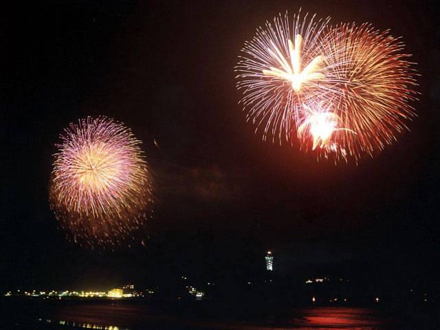 江の島納涼花火