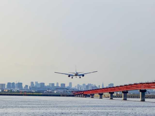 東京国際空港 羽田海上旅客機観覧