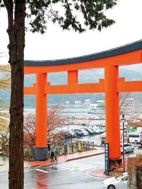 箱根神社の第一鳥居