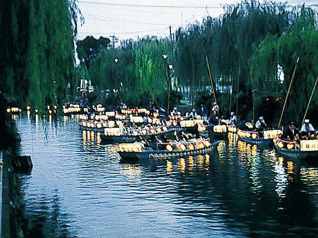 白秋祭 水上パレード