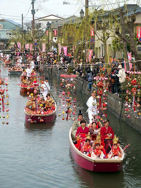 柳川雛祭り・さげもんめぐり
