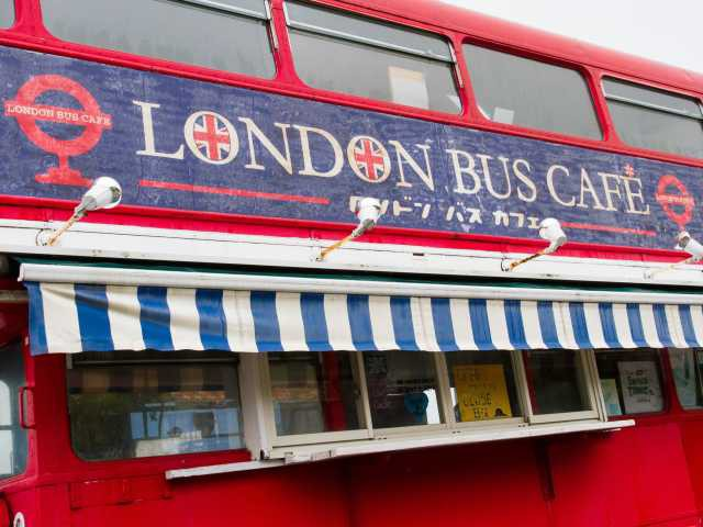 糸島LONDON BUS CAFE