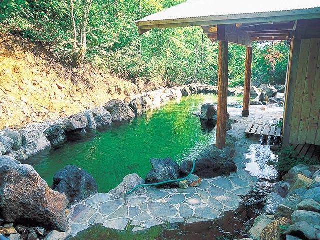 秘湯の宿 蟹場温泉