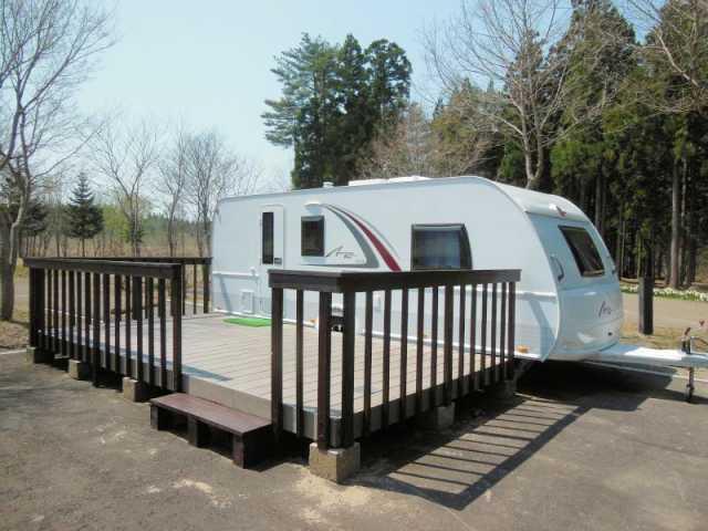 秋田県立北欧の杜公園オートキャンプ場