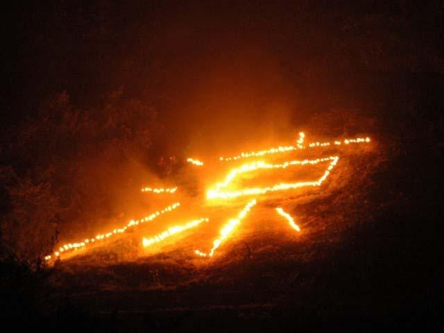 大島の火まつり