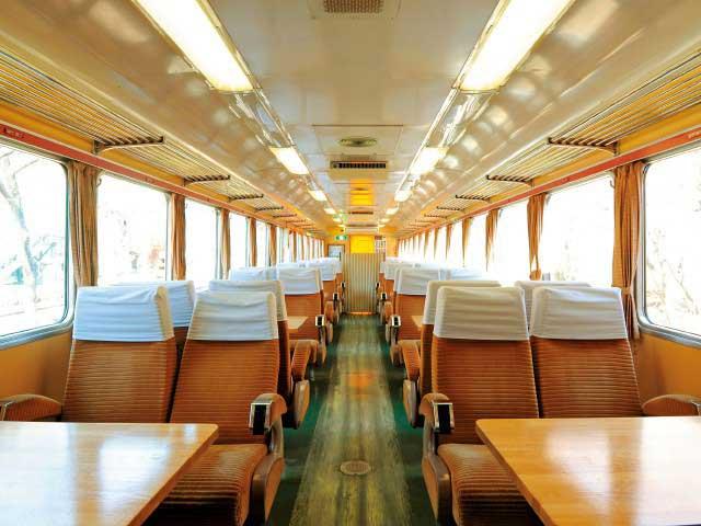 列車のレストラン・清流