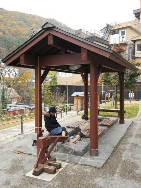 湯原温泉公園