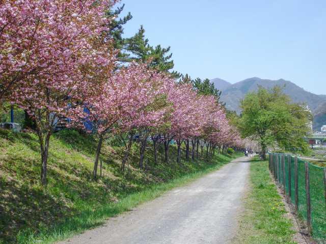 諏訪峡遊歩道