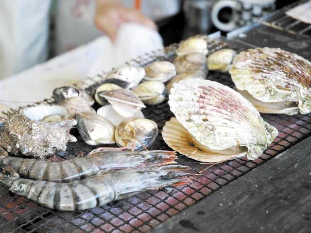 大洗海鮮市場・海鮮どんぶり亭