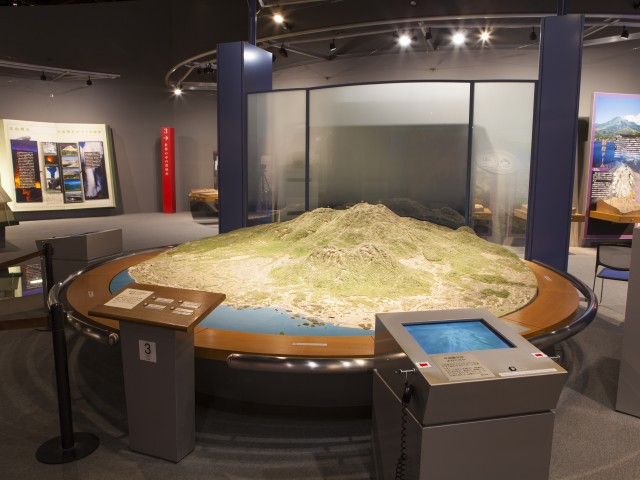 がまだすドーム 雲仙岳災害記念館