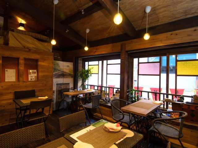 長崎の路地裏Cafe