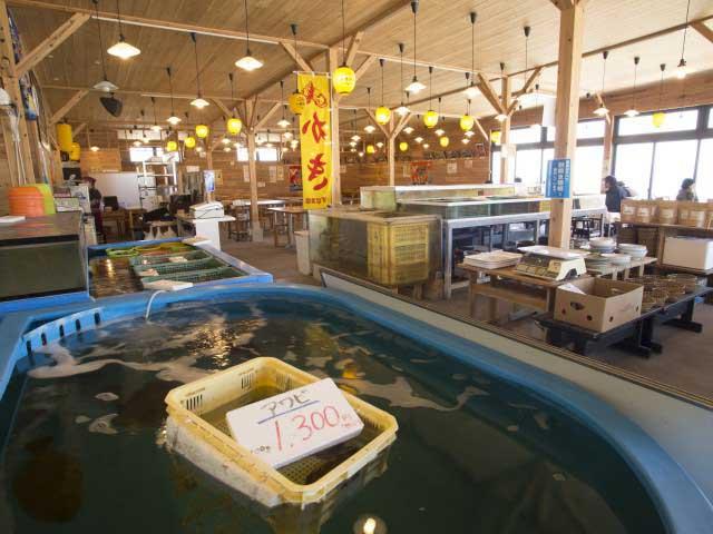 海鮮市場 蒸し釜や