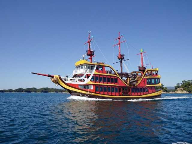 九十九島海賊遊覧船みらい