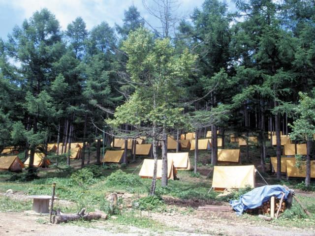 湯の丸キャンプ場