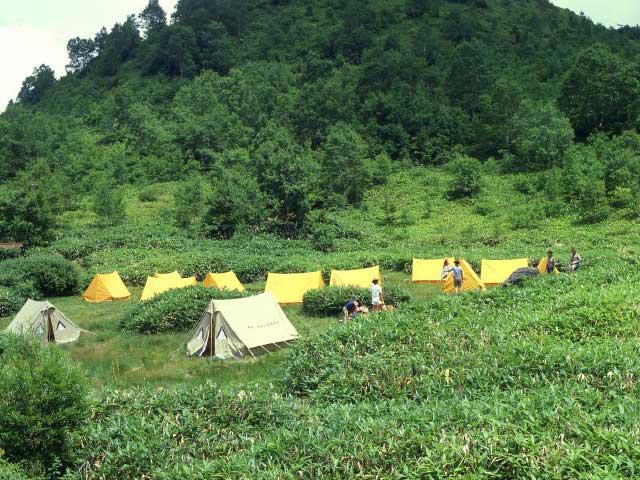 木戸池キャンプ場