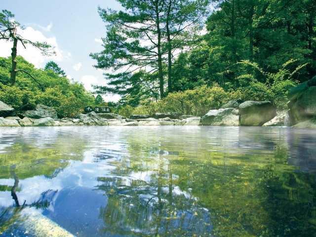 立ち寄りの湯 軽井沢千ヶ滝温泉
