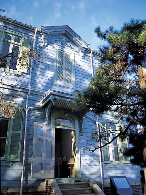 長野県宝松本市旧司祭館