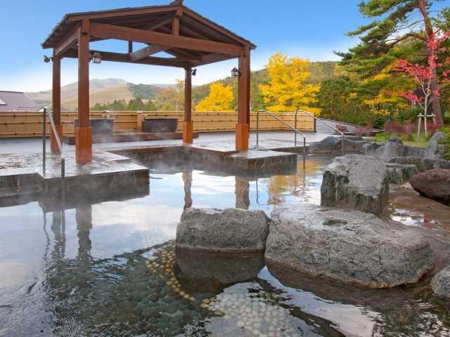 白樺リゾート池の平温泉 湯めぐりワールド