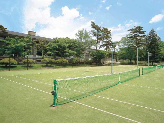 軽井沢プリンスホテル ウエストテニスコート