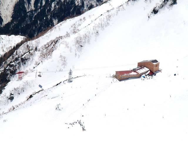 中央アルプス千畳敷スキー場