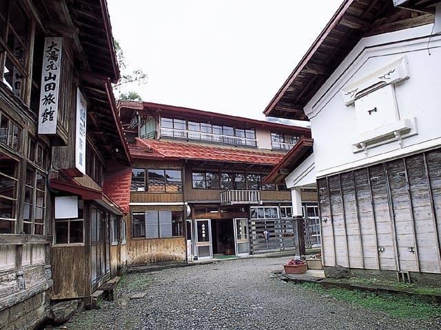 小谷温泉 大湯元 山田旅館(日帰り入浴)