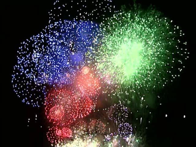 五所川原花火大会「水と光と音の祭典」